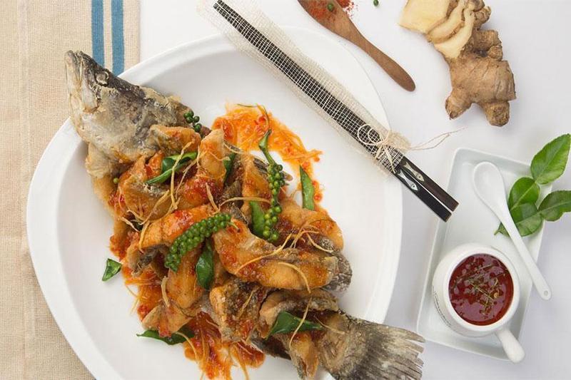 Đặt tiệc đầy tháng trọn gói với các món ngon từ cá chẽm