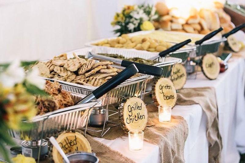 Bất ngờ với 5 bước đơn giản để sở hữu tiệc cưới buffet đẳng cấp